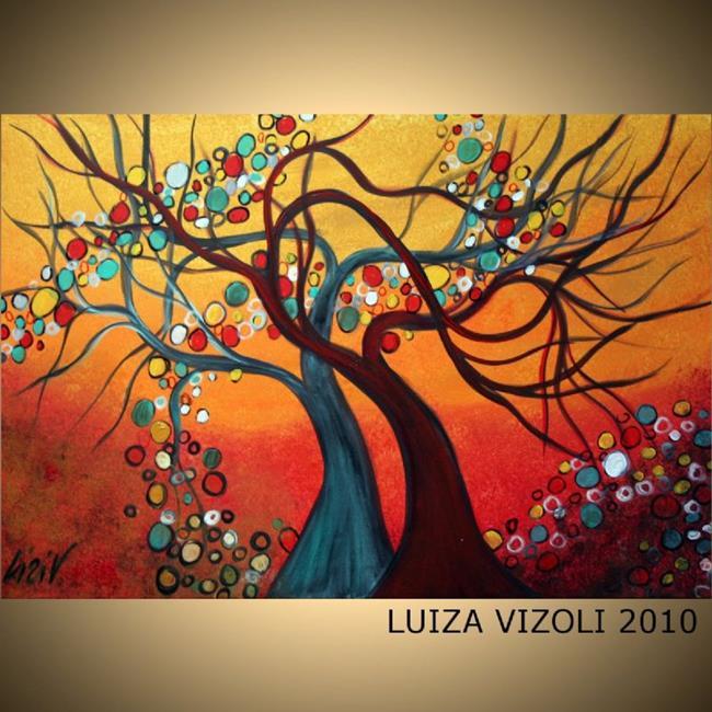 Art: IN LOVE-Custom Painting by Artist LUIZA VIZOLI