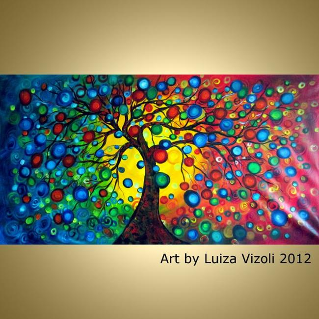 Art: SEASONS SERENADE CUSTOM by Artist LUIZA VIZOLI