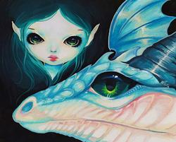 Art: Nadia Drakonette by Artist Nico Niemi