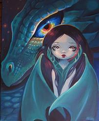 Art: Night Child by Artist Nico Niemi