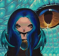 Art: Aquia Drakonette by Artist Nico Niemi