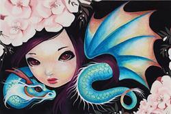 Art: Lia Drakonette by Artist Nico Niemi