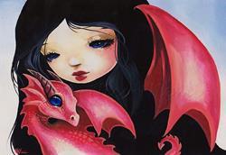 Art: Sweet Baby Dragon by Artist Nico Niemi