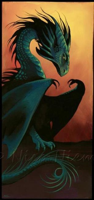 Art: Dragon by Artist Nico Niemi