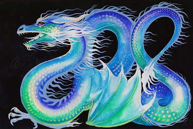Art: Dream Dragon by Artist Nico Niemi