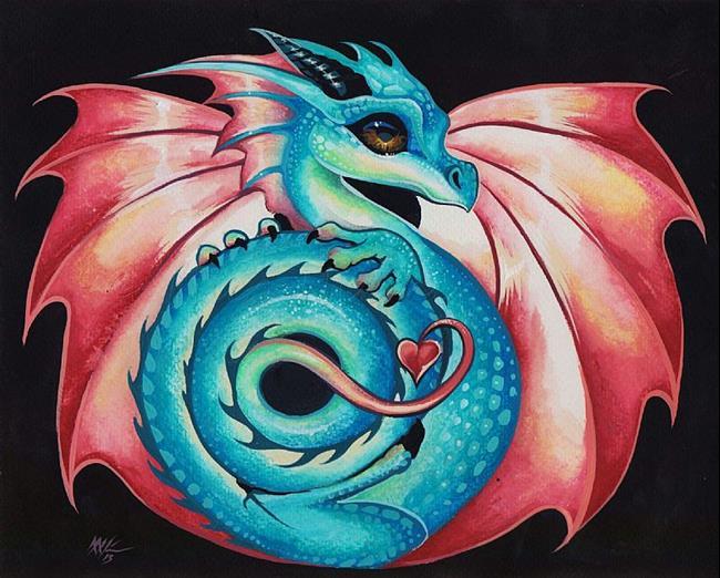 Art: Little Dragonette by Artist Nico Niemi