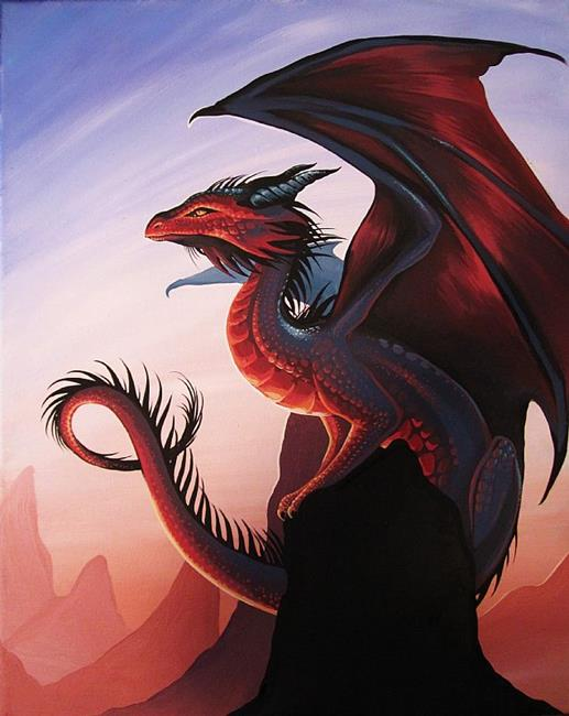 Art: Skytop Dragon by Artist Nico Niemi
