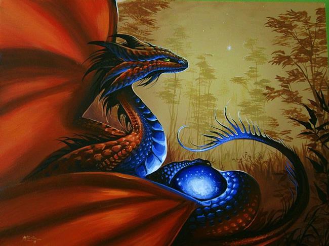 Art: DragonsPromise1.jpg by Artist Nico Niemi