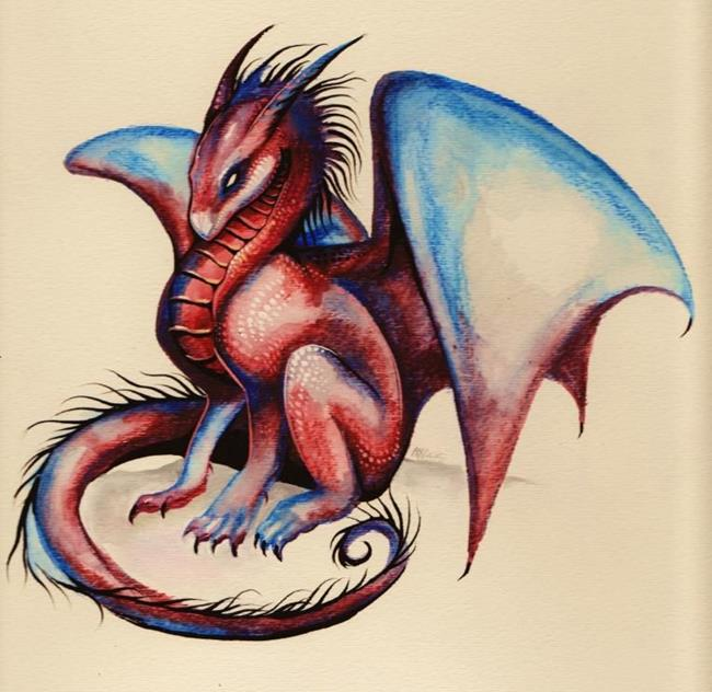 Dragon Watercolor Paintings | HD Walls | Find Wallpapers