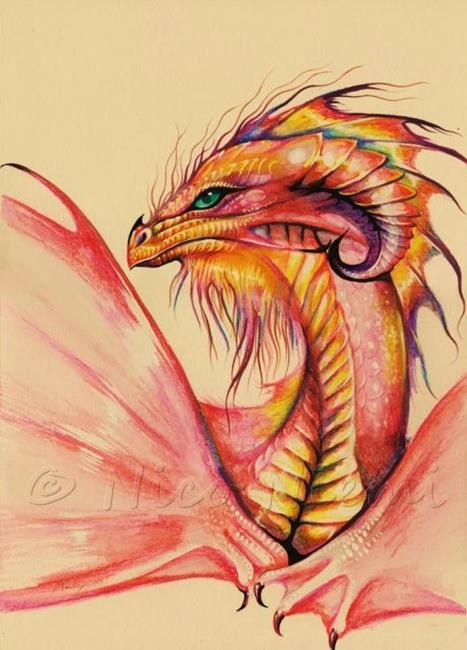 Dragon Colors - by Nico Niemi from dragons