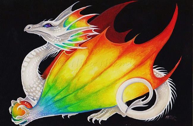 Art: Prismatic Dragon by Artist Nico Niemi