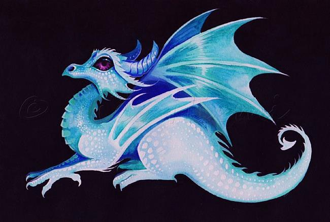 Frost Dragon - by Nico Niemi from dragons