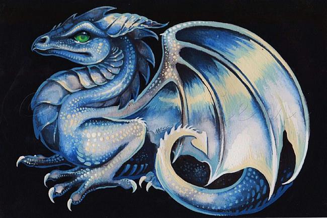 Art: Emerald-Eyed Dragon by Artist Nico Niemi