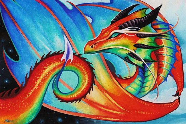 Art: Time Keeper Dragon by Artist Nico Niemi