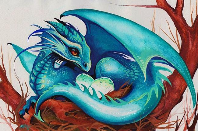 Art: Dragons Nest by Artist Nico Niemi