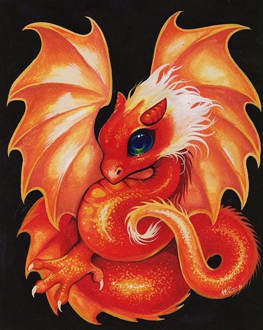 Art: Blaze Dragonette by Artist Nico Niemi