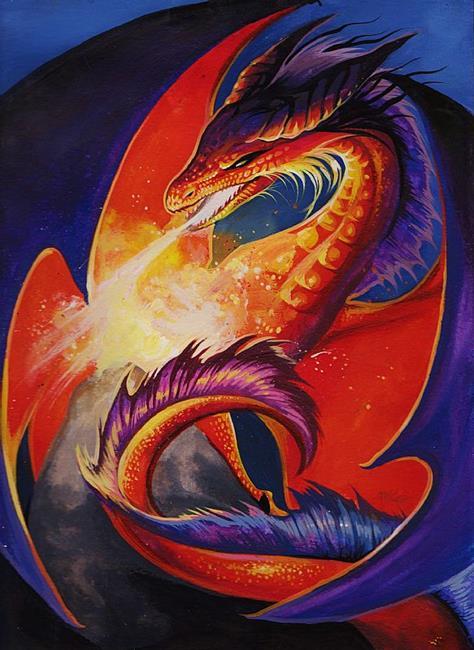 Art: Fire Within by Artist Nico Niemi