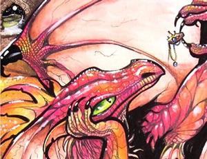Detail Image for art Dragon Treasure