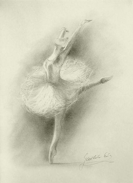 ballerina pencil drawing - photo #23