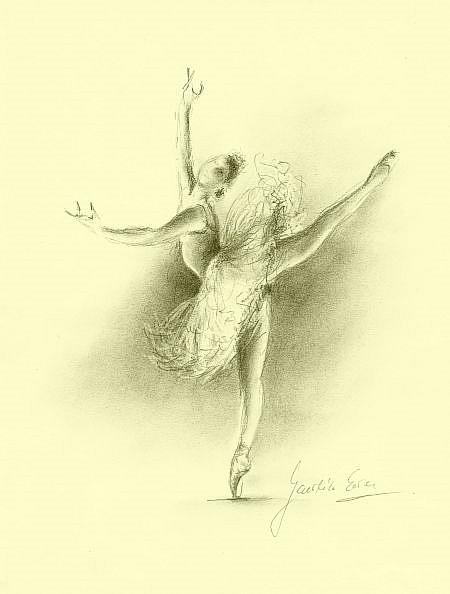 ballerina pencil drawing - photo #15