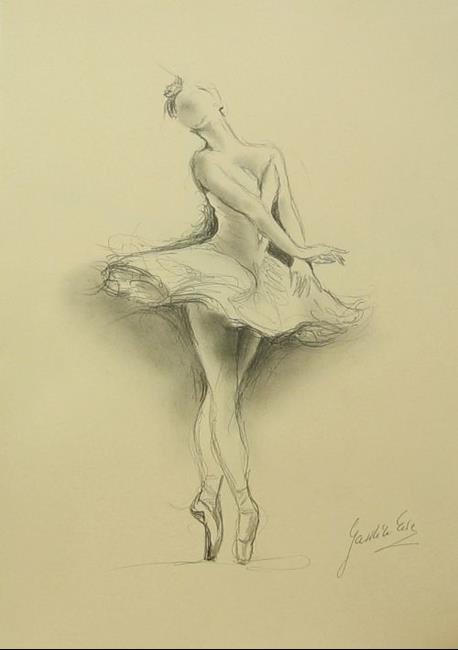 ballerina pencil drawing - photo #11