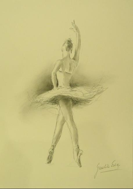 ballerina pencil drawing - photo #30