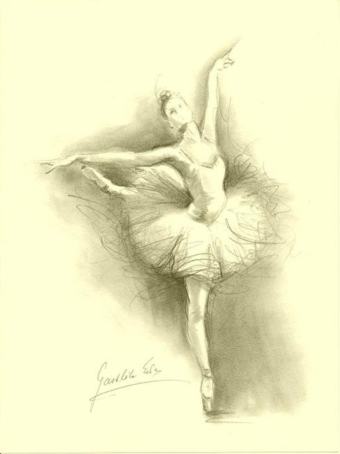 ballerina pencil drawing - photo #7