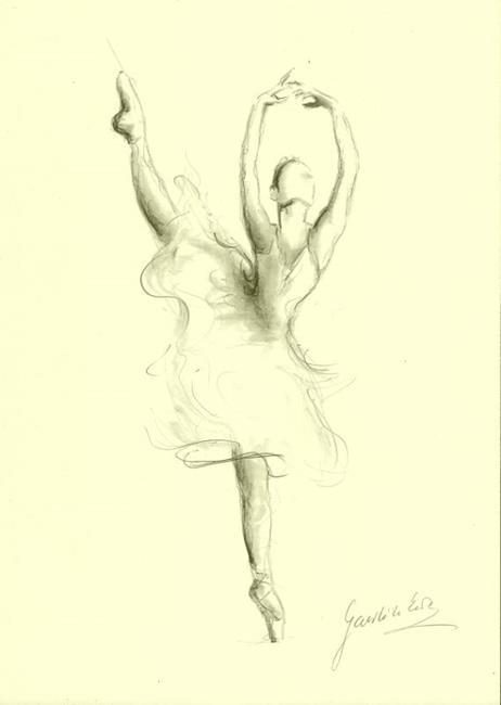 Art: Balerina by Artist Ewa Kienko Gawlik