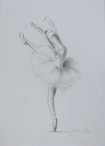ballerina pencil drawing - photo #49