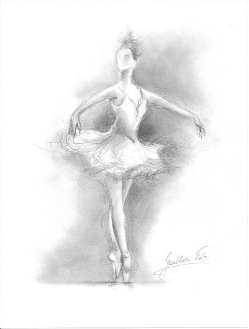 ballerina pencil drawing - photo #47