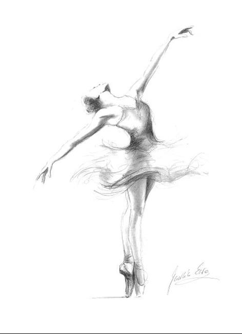 Art: Ballerina by Artist Ewa Kienko Gawlik