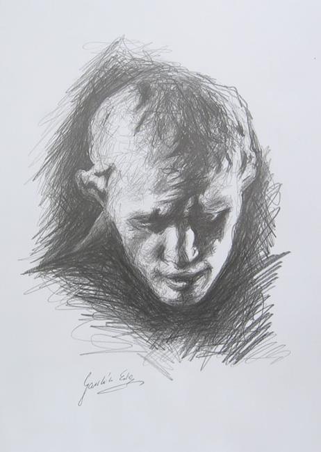Art: Pierre de Wiessant by Artist Ewa Kienko Gawlik