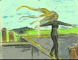 Art: Balance by Artist Marina Owens