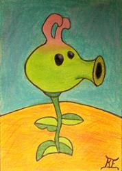 Art: Rabert Plant by Artist Tina Marie Ferguson