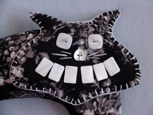 Detail Image for art Grinning Cat