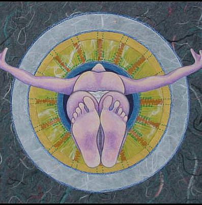 Art: Dali and The Eye of God by Artist Tina Marie Ferguson