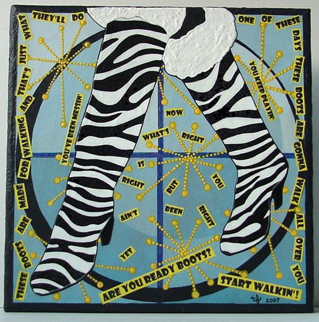 Art: Kinky Boots by Artist Tina Marie Ferguson