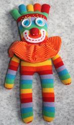 Art: Sock It Toe Me Clown by Artist Tina Marie Ferguson