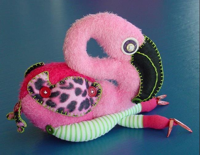 Art: Wild Flamingo by Artist Tina Marie Ferguson