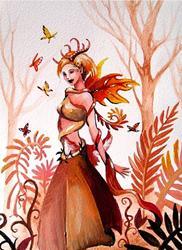 Art: Forest Spirit by Artist Nico Niemi