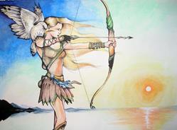 Art: Elf Archer by Artist Nico Niemi