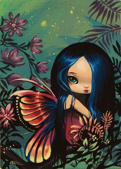 Acrylic Paintings Of Fairies