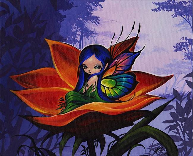Art: Fairy Morning Shine by Artist Nico Niemi