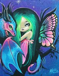 Art: Little Fairy Friends by Artist Nico Niemi