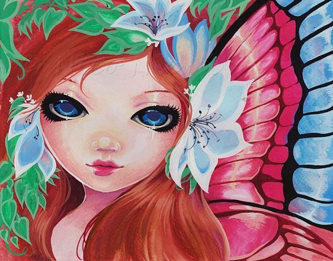 Art: Lovely Summer Fae by Artist Nico Niemi