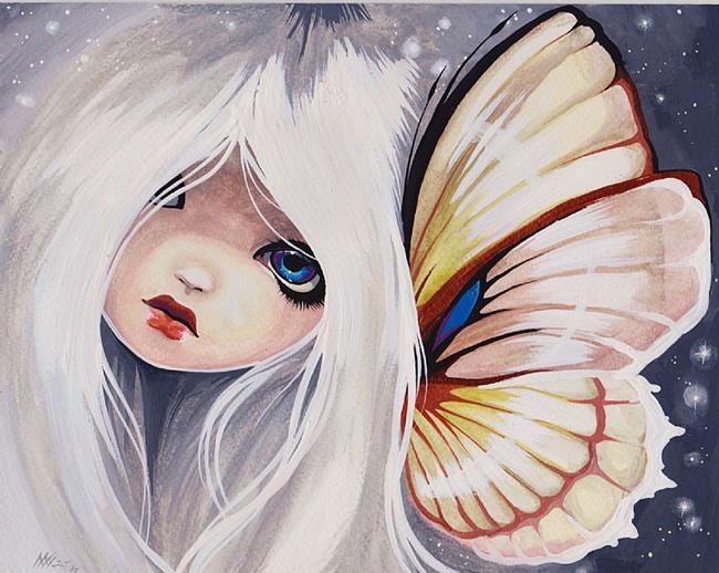 Art: Pale Haired Princess by Artist Nico Niemi