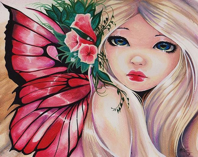 Art: Fae Pearl by Artist Nico Niemi