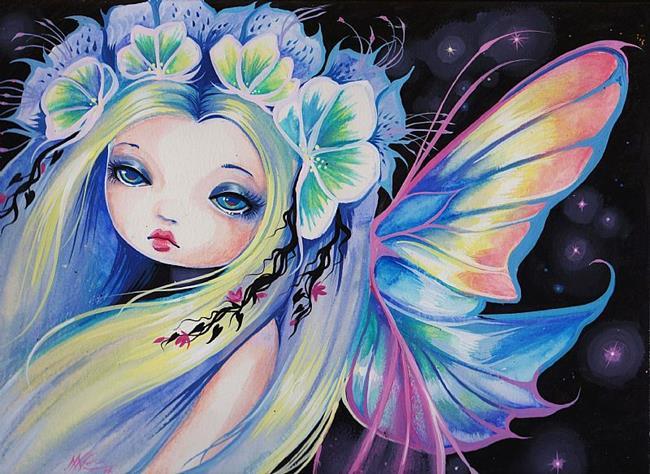 Art: Wishing Star Fairy by Artist Nico Niemi