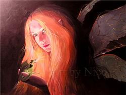 Art: The Light of a Small Friend by Artist Nico Niemi