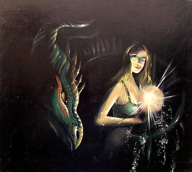 Art: DragonSpeaker by Artist Nico Niemi